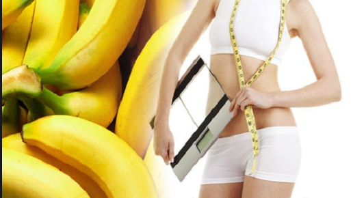 Cepat kurus dengan buah pisang
